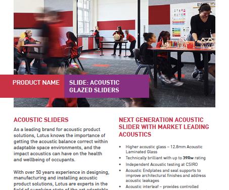 Technical Bulletin - Acoustic Edition